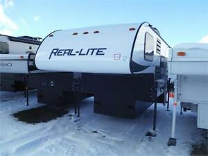 2017 Real Lite HS-1804 Hardwall Truck Camper with Bathroom