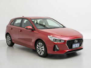2019 Hyundai i30 PD2 MY19 Active Firey Red 6 Speed Automatic Hatchback Jandakot Cockburn Area Preview