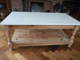 Farmhouse Pine Coffee Table