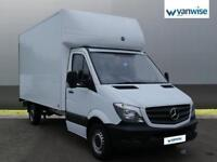 2015 Mercedes-Benz Sprinter 3.5t Chassis Cab Diesel white Manual