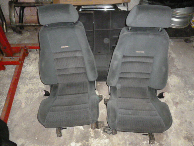 ford escort mk5 rs2000 recaro seats front rear escort. Black Bedroom Furniture Sets. Home Design Ideas