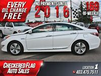 2013 Hyundai Sonata Hybrid Limited W/ Heated Leather-Sunroof-Nav
