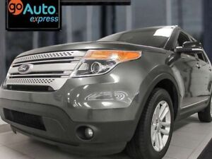 2015 Ford Explorer XLT 4WD with power heated seats, rear A/C and