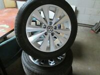 ALLOY WHEELS VW GOLF/CADDY 16 INCH