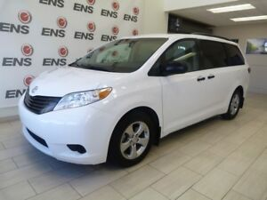 Toyota Certified 2016 Sienna LE with only 14,000km