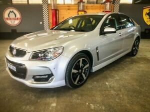 2017 Holden Commodore VF II MY17 SV6 Silver 6 Speed Automatic Sedan Fyshwick South Canberra Preview