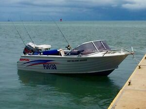 4.8m runabout aluminium boat Capalaba Brisbane South East Preview
