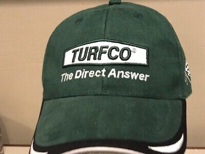 TURFCO Lawn Care Sports Turf Golf Equipment Seed Topdress Hat Cap NEW  Lawn Care Equipment