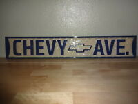 Chevy Avenue Sign