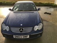 Mercedes CLK 2.7 CDI Elegance Coupe 2 Door