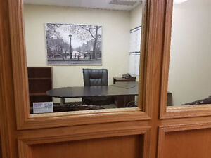 OFFICE SPACES AVAILABLE AT THE HEART OF RED DEER! ONLY $8/SQFT!!