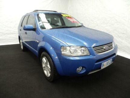 2004 Ford Territory SX Ghia (4x4) Blue 4 Speed Auto Seq Sportshift Wagon Derwent Park Glenorchy Area Preview