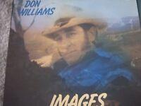 Vinyl LP Don Williams Images K Tel NE1033 Stereo 1978