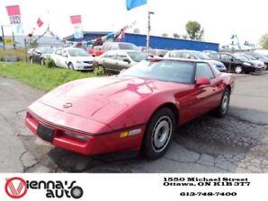 1984 Chevrolet Corvette 2 door