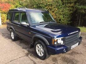 2003 03 LAND ROVER DISCOVERY 2.5 TD5 GS 7STR 5D 136 BHP DIESEL