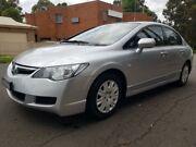 2007 Honda Civic 8th Gen MY07 VTi Silver 5 Speed Automatic Sedan Granville Parramatta Area Preview