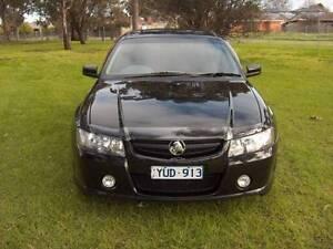 2005 HOLDEN C'DORE VZ S PACK V6 3.6 LTR BLACK UTE! Mordialloc Kingston Area Preview