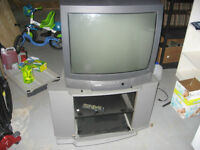 "27"" Toshiba Television and Stand"