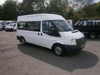 Ford Transit Shuttle Bus Medium Roof 9 Seater tdci 125ps DIESEL MANUAL (2013)