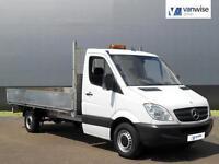 2012 Mercedes-Benz Sprinter 313 CDI C/C MWB Diesel white Manual