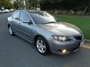 2004 Mazda 3 BK Maxx Sport Grey Metallic 4 Speed Auto Activematic Sedan