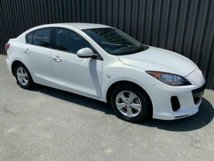 2012 Mazda 3 BL 11 Upgrade Neo White 5 Speed Automatic Sedan Phillip Woden Valley Preview