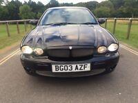 2003 Jaguar X-Type V6 Sport excellent service history in black lovely car
