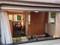 Avondale Dart 510 5 Berth 2004 Caravan with Awning, Wheel Lock, Hitch Lock and water/waste carrier