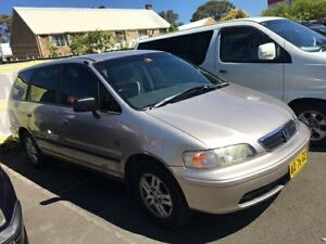 1998 Honda Odyssey (7 Seat) Gold 4 Speed Automatic Wagon Campbelltown Campbelltown Area Preview