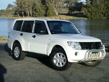 2012 Mitsubishi Pajero NW MY12 GL LWB (4x4) White 5 Speed Manual Wagon Belconnen Belconnen Area Preview