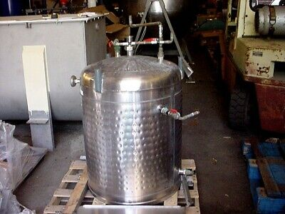 70 Gallon Mueller Sanitary Stainless Steel Jacketed Tank