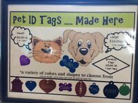 * New *Pet ID Tags now avialable at Grooming Tails Pet Salon