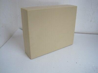 ABS Kunststoff Gehäuse Leergehäuse 220 x 180 x 60 mm Beige