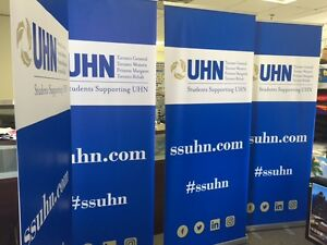 Roll Up Banner and Reretractable Banner Oakville / Halton Region Toronto (GTA) image 4