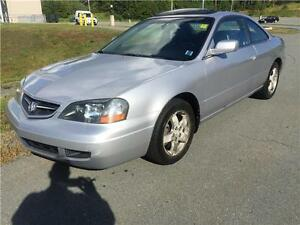 2003 Acura CL NEW MVI , MINT! LOW KMS!