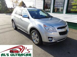 2014 Chevrolet Equinox LTZ for only $189 bi-weekly all in!