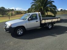2008 Mazda BT-50 B2500 DX Silver 5 Speed Manual Cab Chassis Woodbine Campbelltown Area Preview