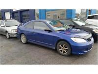Honda Civic Cpe DX 2005