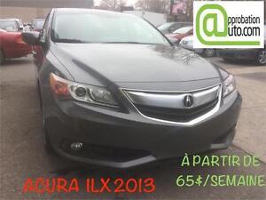 2013 Acura ILX groupe techn, À PARTIR DE65$/SEMAINE 100%APPROUVÉ
