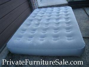Slightly used Double Inflatable AIR Mattress, NO PUMP
