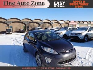 2012 FORD FIESTA SES LOW LOW KM CLEAN ACCIDENT FREE