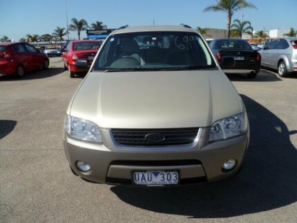 2006 Ford Territory SY TS AWD Gold 6 Speed Sports Automatic Wagon Heatherton Kingston Area Preview