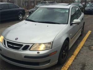 2004 Saab 9-3 Luxury, Leather Loaded. Gas Saver  Clean  $3250.00
