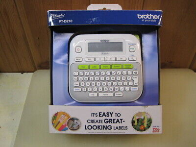 Brother P Touch Pt-d210 Compact Tag And Label Maker Printer  B3568