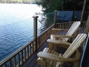 Right on the water....Freshly renovated cottage,  Bancroft...