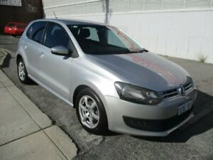 2012 Volkswagen Polo Silver Manual Hatchback West Perth Perth City Area Preview
