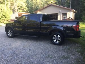 FOR SALE BLACK 2014 FORD F150 FX4 SUPERCREW 4X4