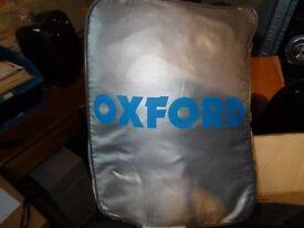 Oxford waterproof motorcycle cover.