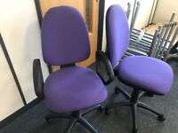 office furniture purple office chairs