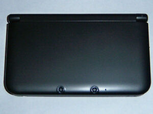 *****NINTENDO 3DS XL NOIRE VERSION EUROPÉENNE A VENDRE / EUROPEAN VERSION BLACK NINTENDO 3DS XL FOR SALE*****